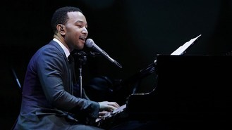 Mum's the word for John Legend