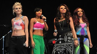 Little Mix fly to top of charts