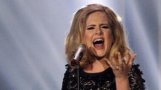 Adele quiet on the album front?