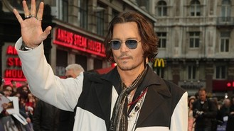 Johnny Depp rocks with Alice Cooper