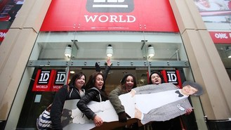 One Direction pop-up store opens