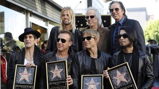 Jane's Addiction get Hollywood star