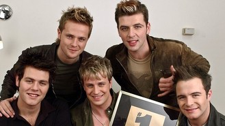 Westlife star hits back at Cowell