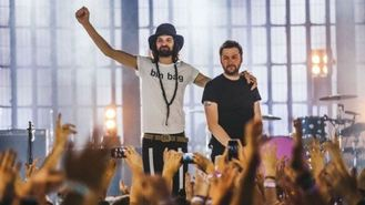 Kasabian rocked out iTunes festival