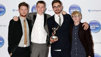 Alt-J celebrate Mercury Prize win