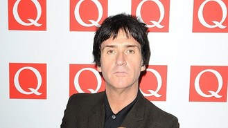 Johnny Marr: I'm happy out front