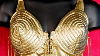 Madonna's gold corset to go on tour
