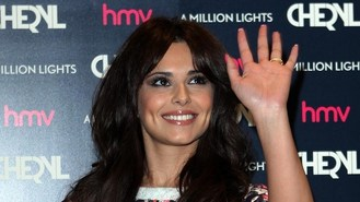 Cheryl Cole 'fine' after car crash