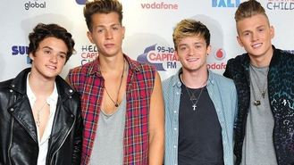 The Vamps open new theme park ride