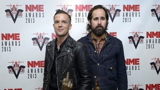 The Killers hard at work on music