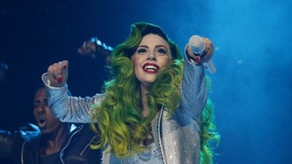 Gaga closes 2013 Jingle Bell Ball