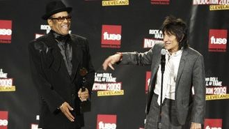 Ronnie Wood's tears for star Womack