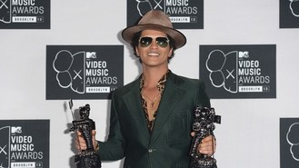 Bruno Mars most pirated artist