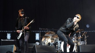 Kasabian go off piste for festival