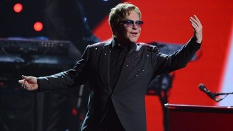 Elton rules at US music festival