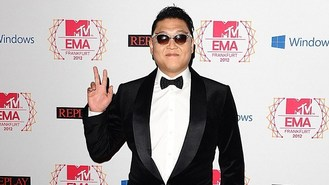 Psy tops new year karaoke chart