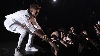 Now Bieber falls ill during show