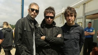 Beady Eye replaced by Angello at V