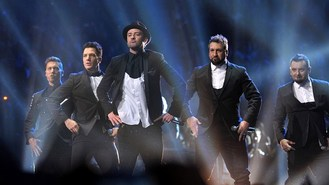 Stars swoon over N Sync reunion