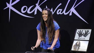 Morissette inducted into RockWalk