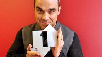 Chart double for Robbie Williams