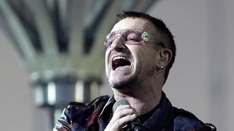 Bono awarded French cultural honour