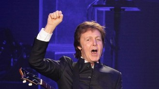Sir Paul plays gig at highest venue