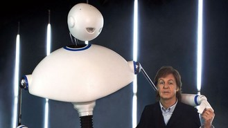 Robot to join McCartney on stage