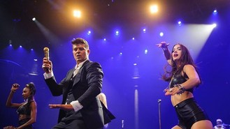Thicke's smooth soulful iTunes show