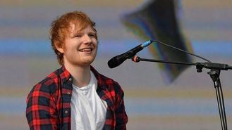 Sheeran hits top of album charts