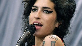 Winehouse portrait goes on show