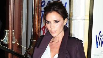 Victoria Beckham spices up her life