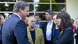 Cameron tribute to music industry