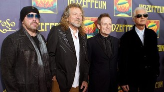 Led Zep rubbishes reunion talk