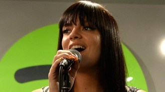 Lily Allen performs Spotify gig