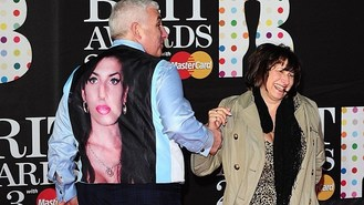 Amy Winehouse image at the Brits