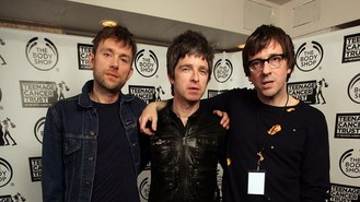 Britpop rivals unite for charity
