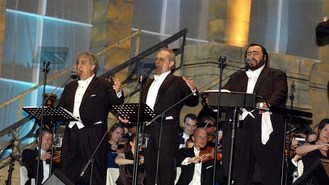 Tenors to honour Pavarotti at Brits