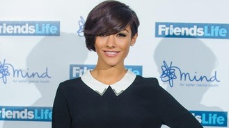 Frankie Sandford gets homesick