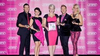 Steps complete dancing record bid