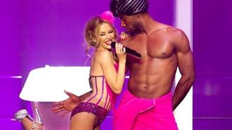 Kylie goes raunchy for UK tour