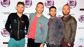 Coldplay 'humbled' by music award