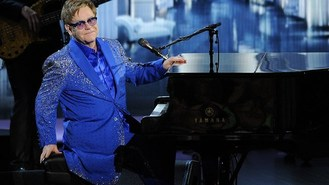 Elton: New songs spark rush to loo