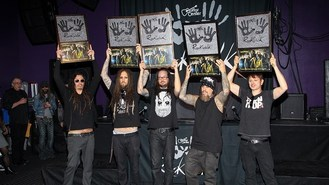 Korn 'thankful' for RockWalk honour