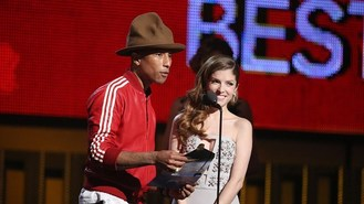 Pharrell to auction Grammys hat
