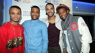 JLS giveaway for cancer awareness