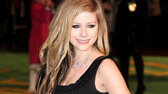 Avril Lavigne's girlie holiday