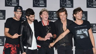 One Direction top global acts chart