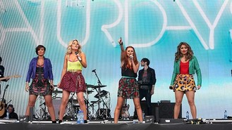The Saturdays light up Big Weekend