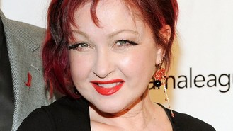Lauper: Broadway is a happy place